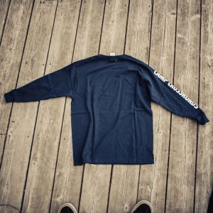 Youth Navy Long Sleeve Shirt